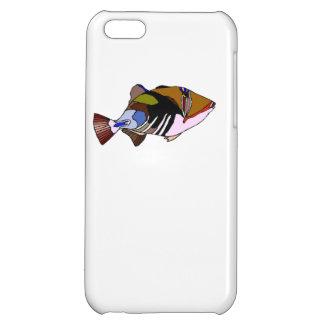 Huma Huma Triggerfish Cover For iPhone 5C