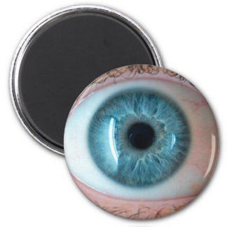 Human 2 Inch Round Magnet