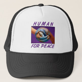 Human 4 Peace Trucker Hat