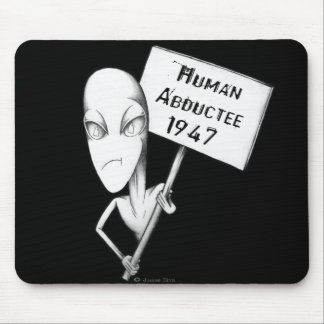 Human Abductee 1947 Mouse Pad
