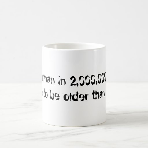 Human Age Classic White Coffee Mug