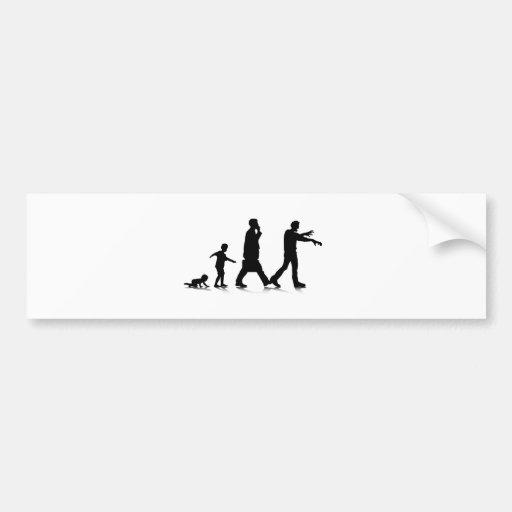 Human Aging_7 Bumper Sticker