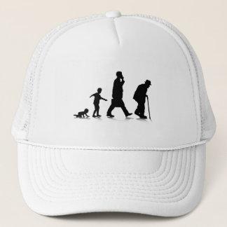 Human Aging Trucker Hat