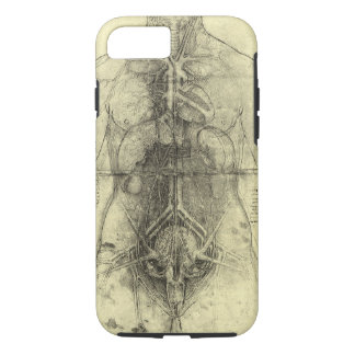 Human Anatomy, Female Torso by Leonardo da Vinci iPhone 7 Case
