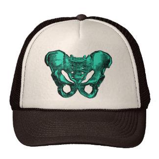 Human Anatomy Pelvis Bones Trucker Hats