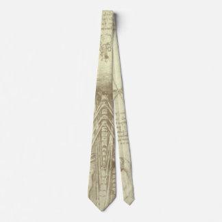 Human Anatomy Spinal Column by Leonardo da Vinci Neck Tie