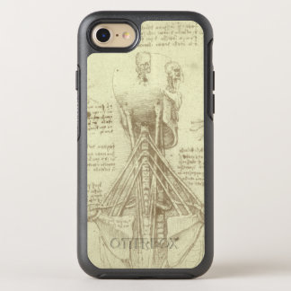 Human Anatomy Spinal Column by Leonardo da Vinci OtterBox Symmetry iPhone 8/7 Case