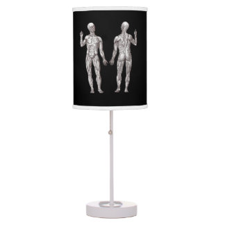 Human Anatomy - The Muscular System Desk Lamp