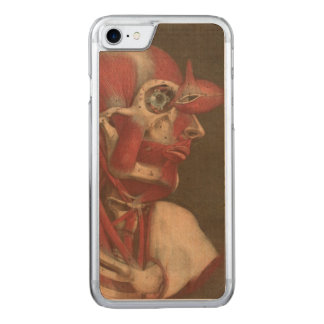 Human Anatomy Vintage Eye Head and Neck Carved iPhone 8/7 Case