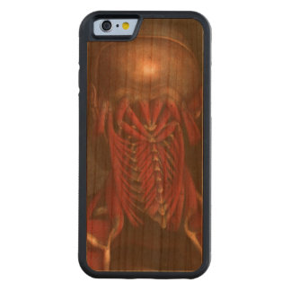 Human Anatomy vintage  Neck and Shoulders Carved Cherry iPhone 6 Bumper Case