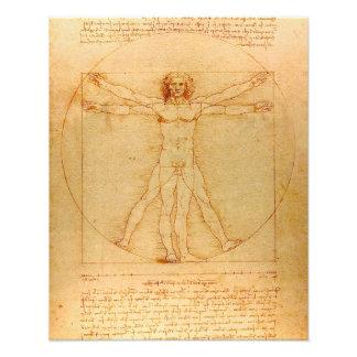 Human Anatomy, Vitruvian Man by Leonardo da Vinci Photo