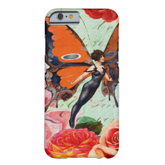 Human-Animal Hybrid Butterfly Woman with Roses Barely There iPhone 6 Case