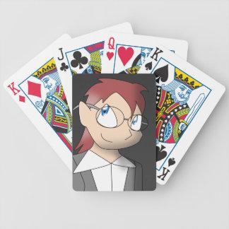 Human Anton Bicycle Playing Cards