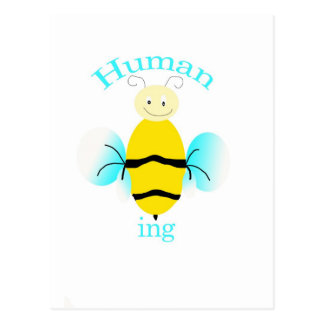 Human Being Postcard