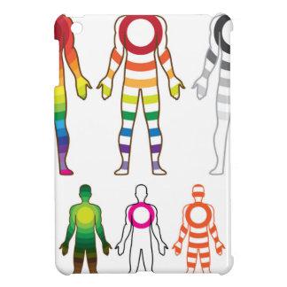 Human body resonanse vector iPad mini cover