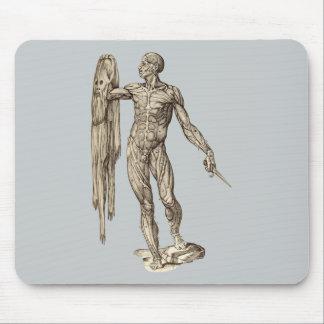 Human Body Skinned anatomy (Valverde) Mouse Pad