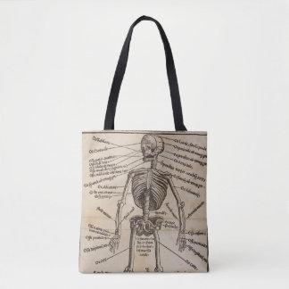 Human Bones Tote Bag
