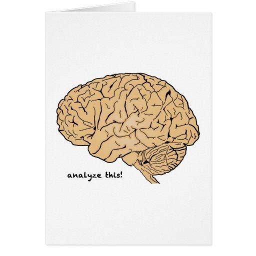 Human Brain: Analyze This! Card