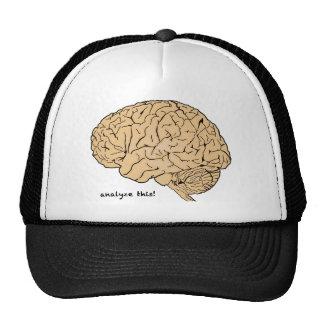 Human Brain: Analyze This! Trucker Hat