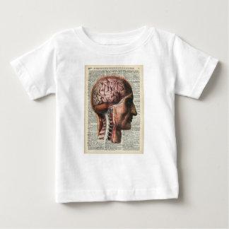 Human Brain Anatomy Baby T-Shirt