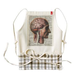 Human Brain Anatomy Zazzle HEART Apron
