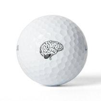 Human Brain Golf Balls