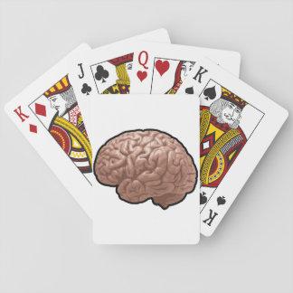 Human Brain Playing Cards