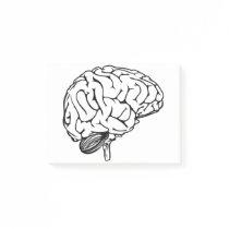 Human Brain Post-it Notes