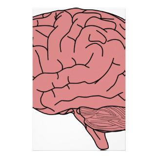 Human brain stationery