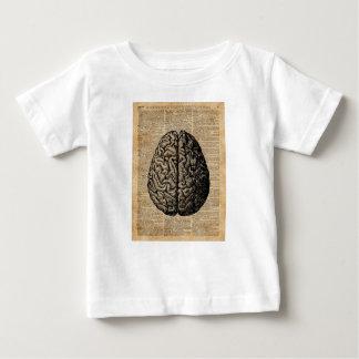 Human Brain Vintage Illustration Dictionary Art Baby T-Shirt
