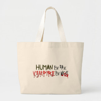 Human by Day, Vampire by Night Bags