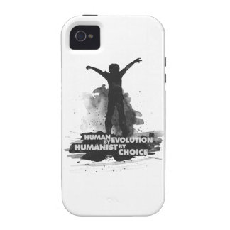 Human by Evolution Humanist by Choice Case-Mate iPhone 4 Cover