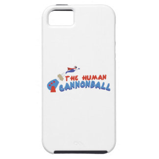 Human Cannonball iPhone 5 Cases