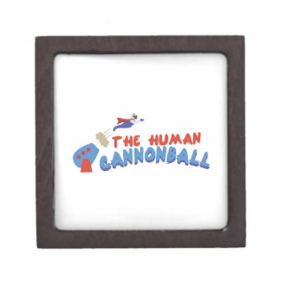 Human Cannonball Premium Gift Boxes