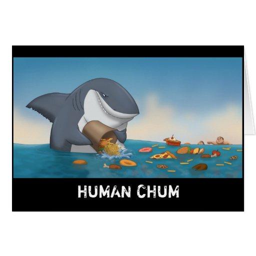 Human Chum Card