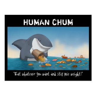 Human Chum Postcards