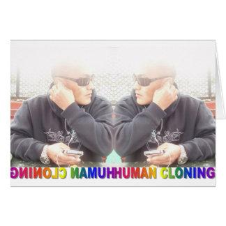 HUMAN CLONING CARD