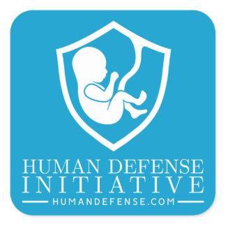 Human Defense Laptop Sticker