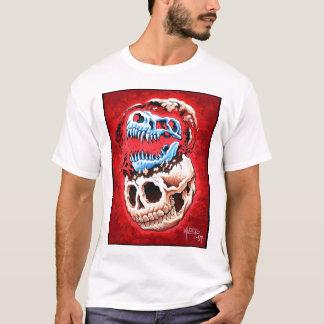 Human & dinosaur skull T-Shirt