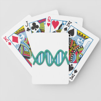 Human DNA colored chains Bicycle Playing Cards