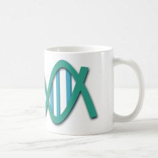 Human DNA colored chains Coffee Mug
