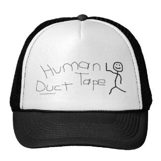Human Duct Tape Hat zazzle_hat