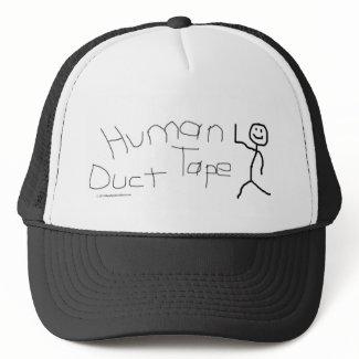 Human Duct Tape Hat zazzle_hat