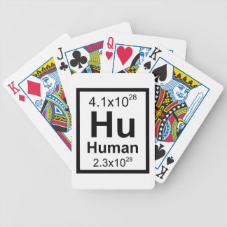 Human Element Bicycle Playing Cards
