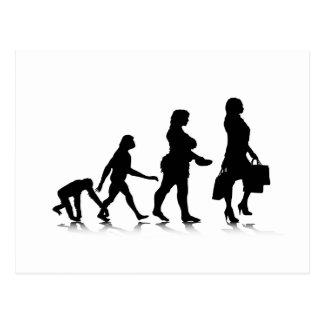 Human Evolution_10 Postcard
