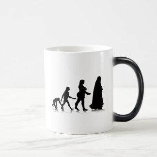 Human Evolution_11 Magic Mug