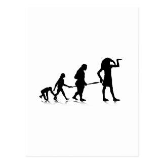 Human Evolution_12 Postcard
