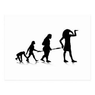 Human Evolution_12 Postcard
