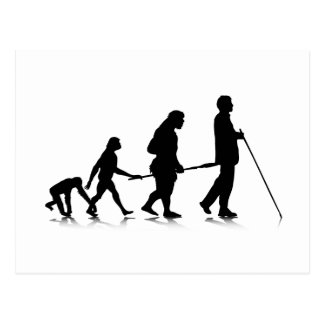 Human Evolution_3 Postcard