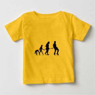 Human Evolution_4 Baby T-Shirt